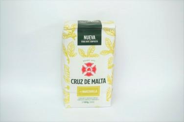 yerba mate cruz de malta elaborada manzanilla 0,5kg