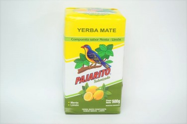 yerba mate pajarito mięta - cytryna 0,5kg