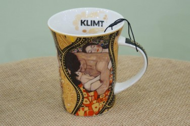 kubek Klimt Rodzina/Pocałunek/Medycyna