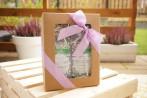pudełko z okienkiem - jesienne herbaty