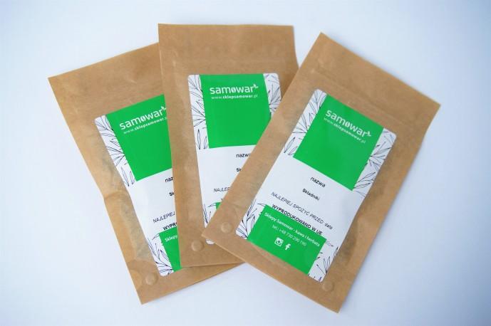 zestaw 3ch próbek herbat białych