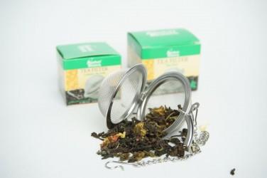 sitko do parzenia herbaty - kulka na łańcuszku