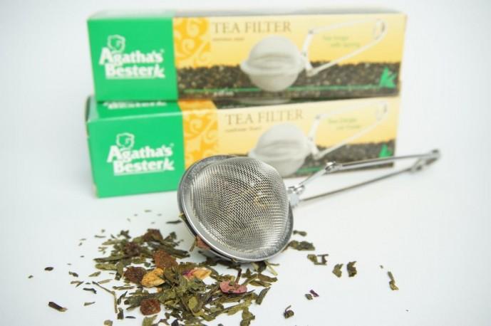 sitko do parzenia herbaty - szczypce