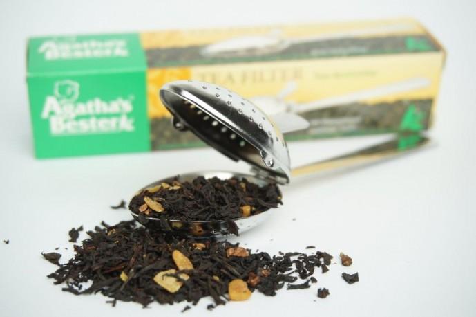 zaparzacz do herbaty - łyżeczka otwierana