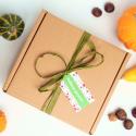 pudełka, kosze prezentowe i podkładki